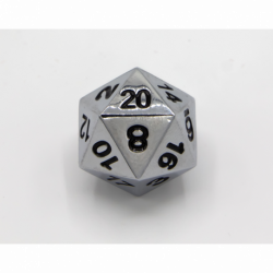 Blue/Copper Set of 10 D10's Fusion Dice with White Numbers for D20 based RPG's