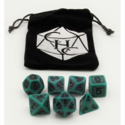 Orange Set of 36 D6's Transparent Dice with White Numbers for D20 based RPG's