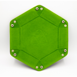 Hexagon Dice Tray - Light Green