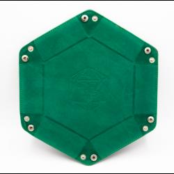 Hexagon Dice Tray - Teal