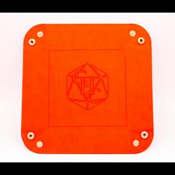 Square Dice Tray - Orange