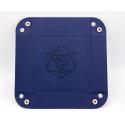 Square Dice Tray - Blue
