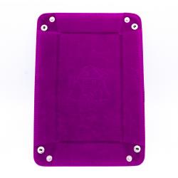 Rectangle Dice Tray - Purple