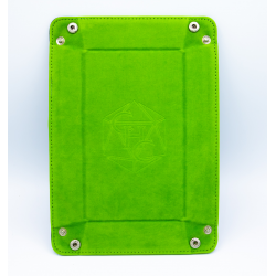 Rectangle Dice Tray - Light Green
