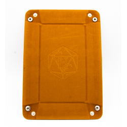 Rectangle Dice Tray - Brown