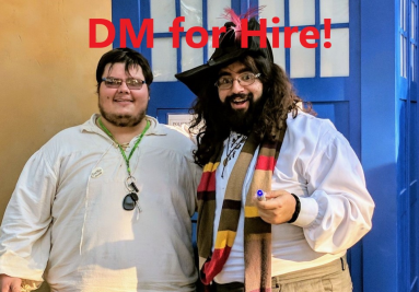 Dungeon Master (DM) for Hire!